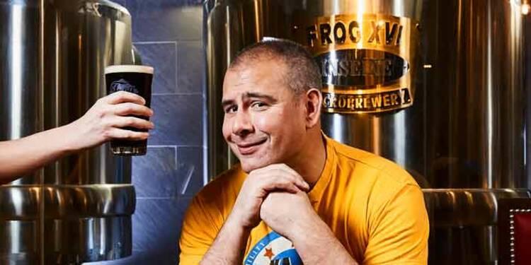 Paul Chantler : Il convertit les grenouilles à la bière anglaise
