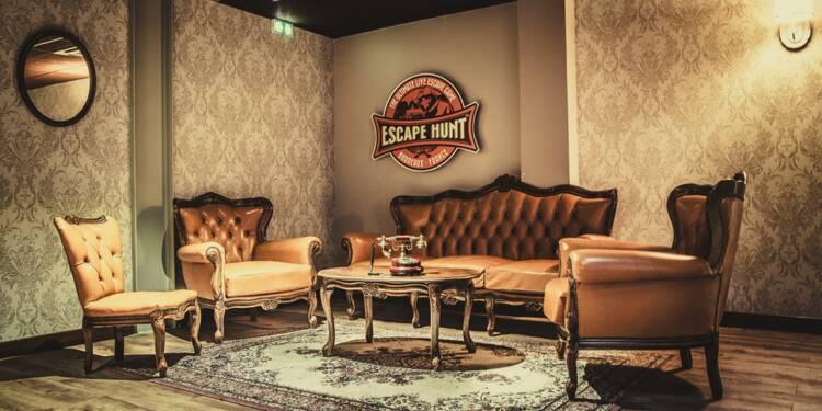 escape rooms la mode des salles de jeux de r le pour. Black Bedroom Furniture Sets. Home Design Ideas