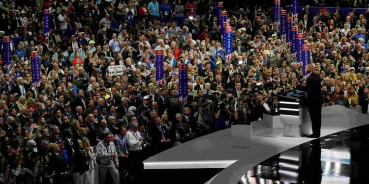 La convention républicaine perturbée par des anti-Trump