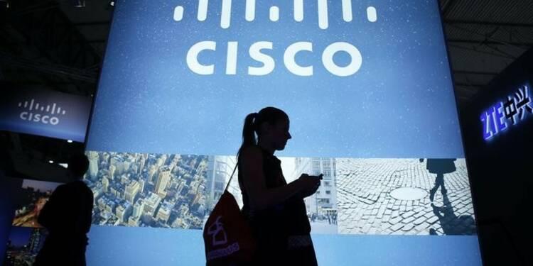 Les résultats de Cisco meilleurs que prévu