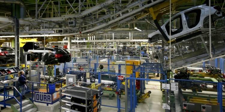La croissance manufacturière reste faible en zone euro