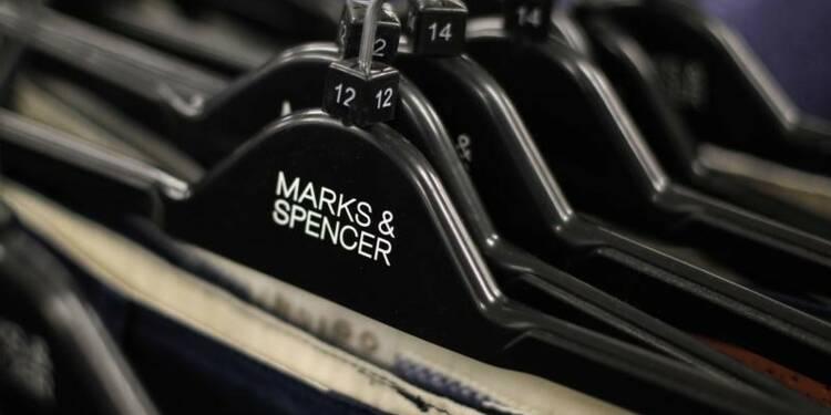 Contraction des ventes habillement de Marks & Spencer