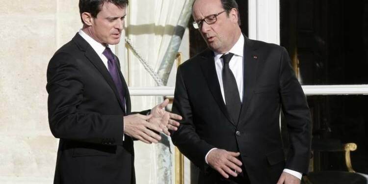 Hollande prend de la hauteur, Valls à la manoeuvre