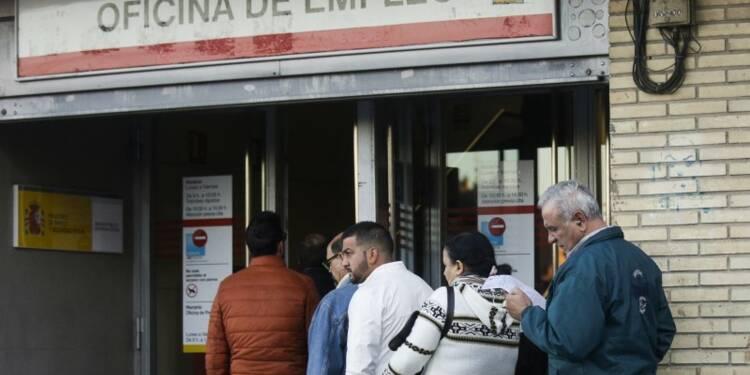 Le chômage baisse en mars en Espagne après deux mois de hausse