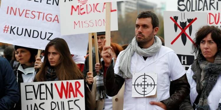 Hôpital afghan de MSF: pas un crime de guerre pour les USA