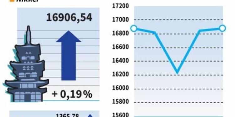 La Bourse de Tokyo finit en hausse, stimulée par Wall Street