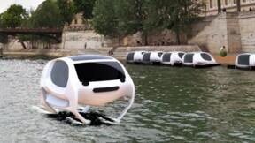 SeaBubble, ce drôle d'engin qui vole sur l'eau et sème la zizanie à Bercy