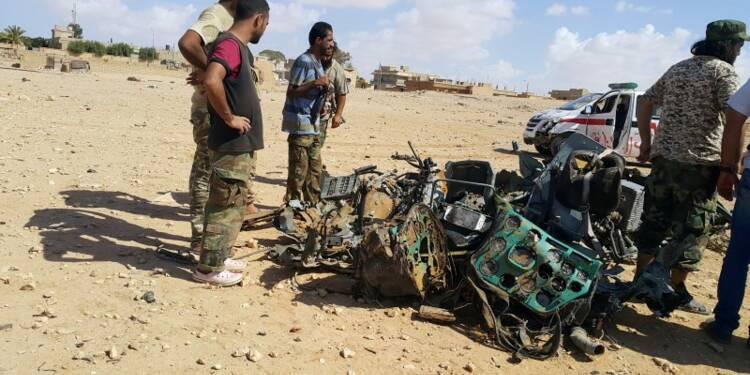 Trois militaires français tués en Libye