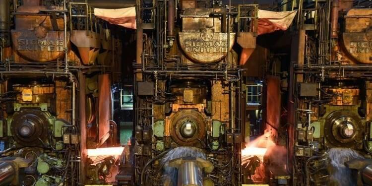 La production industrielle allemande recule moins que prévu