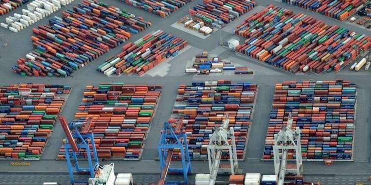 Excédent commercial de 25 milliards d'euros en zone euro en mai