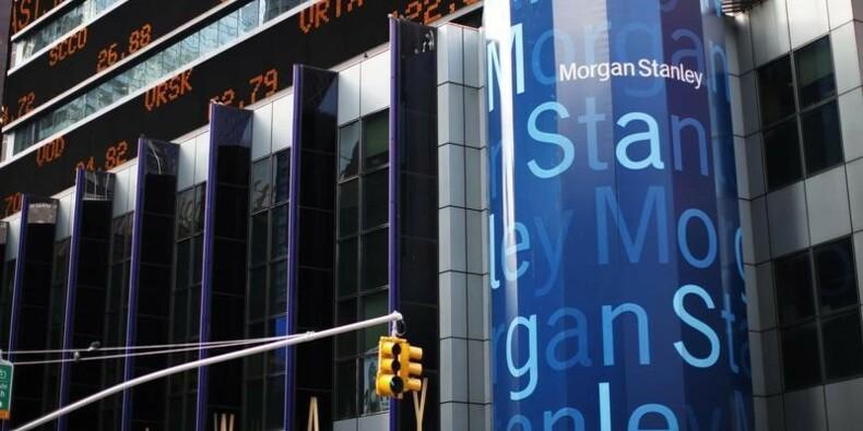 La chute du trading pénalise lourdement Morgan Stanley