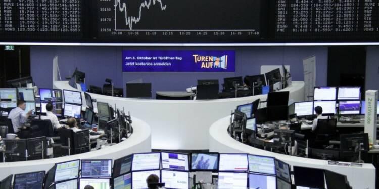 Les places européennes évoluent en ordre dispersé à la mi-séance