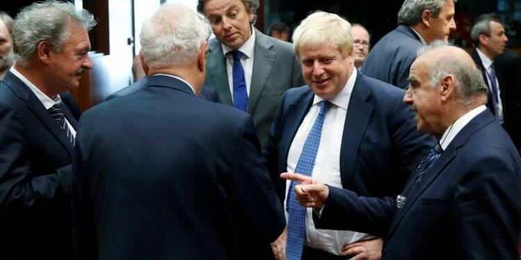 Premiers pas prudents pour Boris Johnson au Conseil européen