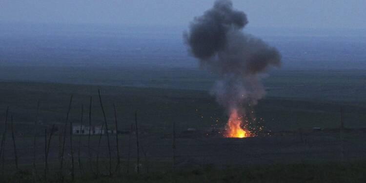 Cessez-le-feu dans le Haut-Karabakh après 4 jours de combats