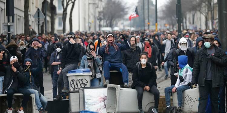 Manifestation contre la loi Travail interdite à Nantes