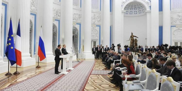 Hollande et Poutine s'entendent pour coopérer contre Daech