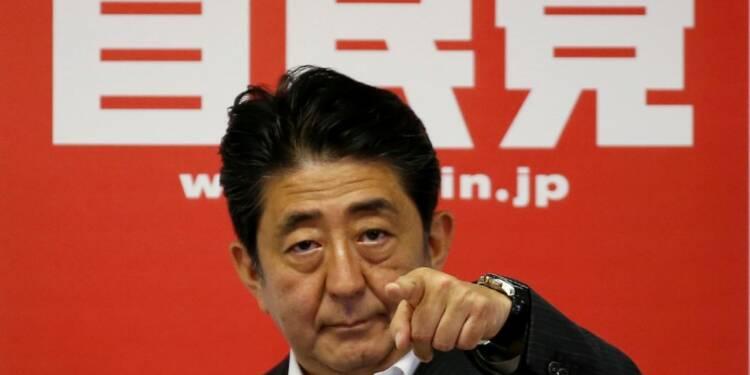 Shinzo Abe amorce un nouveau plan de relance après les élections