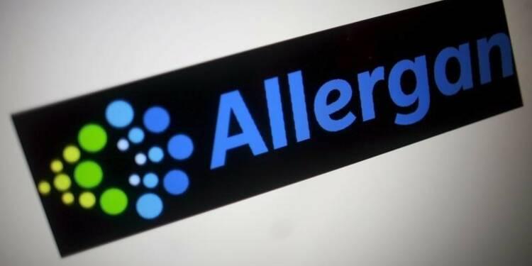 Allergan publie un chiffre d'affaires en hausse de 48%