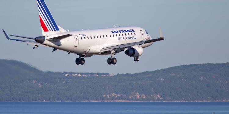 Le nouveau plan stratégique d'Air France est salué en Bourse