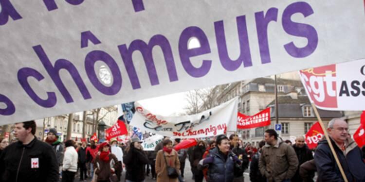 La carte de France du chômage, région par région