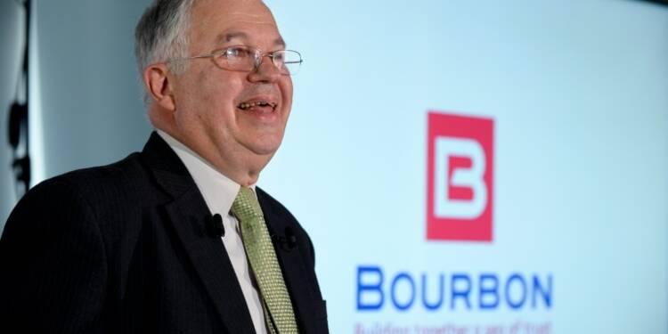 Les fusions du secteur parapétrolier inspirent le président de Bourbon