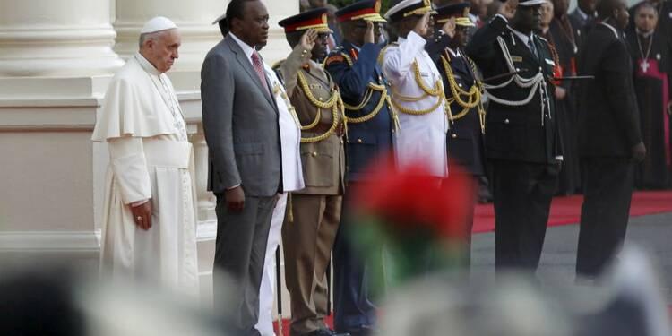 Le pape François entame au Kenya sa première tournée africaine