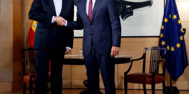 """""""Un pas décisif"""" en Espagne vers une sortie de crise politique"""
