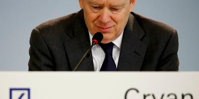 Deutsche Bank invite les investisseurs à la patience