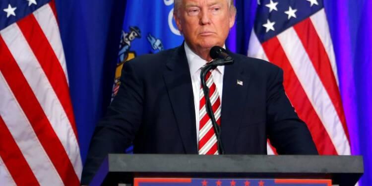 Donald Trump courtise l'électorat noir sur une promesse d'ordre