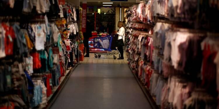 La consommation des ménages continue de progresser en mars