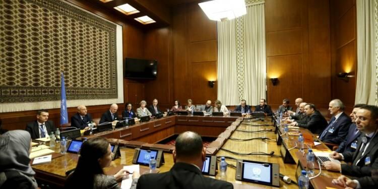 La délégation de l'opposition syrienne en route pour Genève