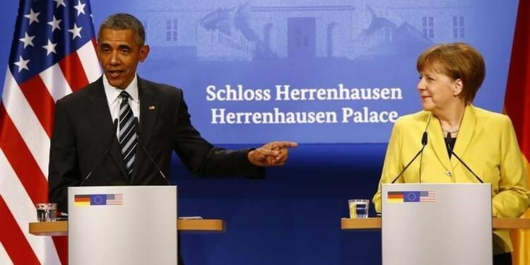 En Allemagne, Barack Obama défend un traité de libre-échange