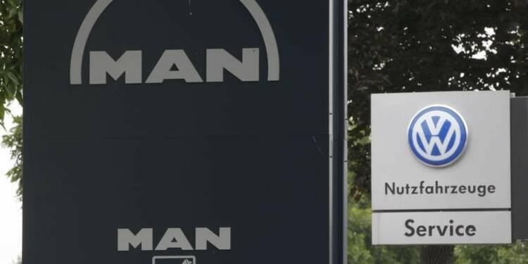 Volkswagen n'exclut pas de coter sa branche poids lourds