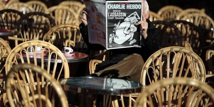 Enquête après des menaces contre Charlie Hebdo