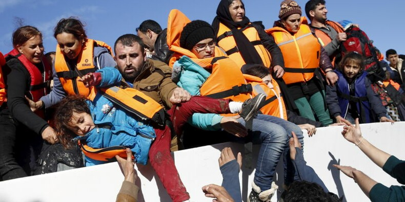 Les arrivées de migrants en Grèce en fort recul en novembre