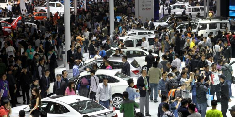 Au Salon automobile de Pékin, les constructeurs courtisent un marché en mutation