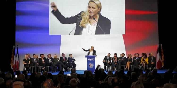 """Marion Maréchal-Le Pen dénonce le """"parti de la peur"""""""