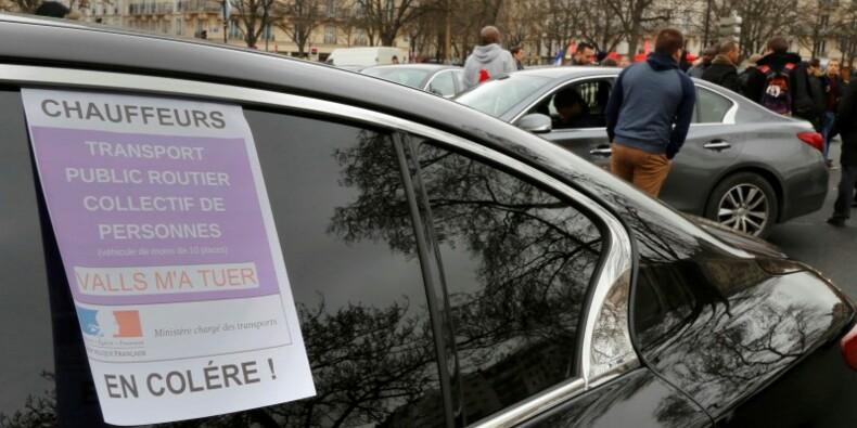 Les chauffeurs de VTC poursuivent leur mobilisation