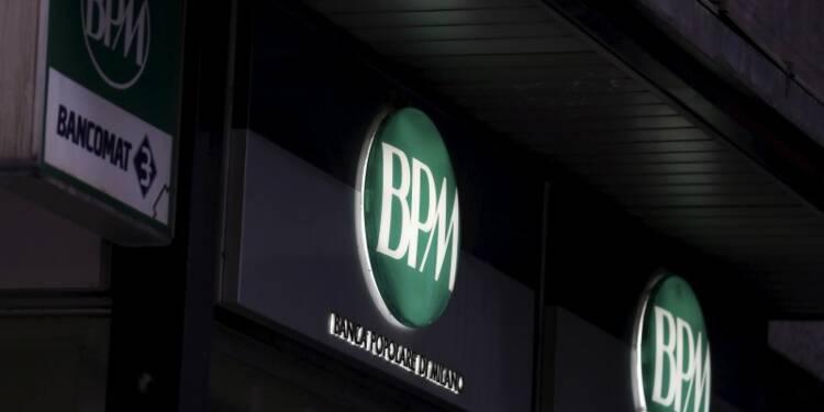 Chute du bénéfice net de Banca Popolare di Milano