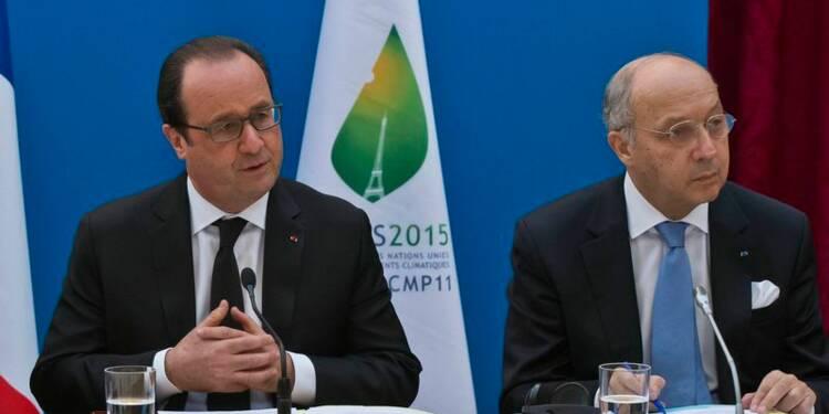 L'accord de Paris sur le climat sera contraignant, dit Fabius