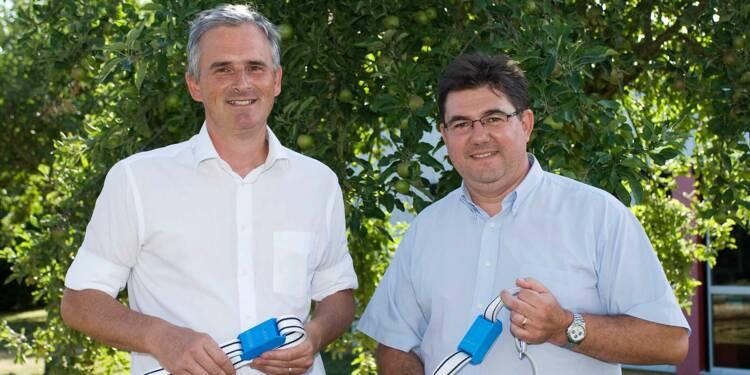 Jean-Pierre Lemonnier et Emmanuel Mounier : ils font parler les vaches