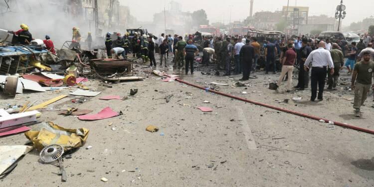 Deux attentats de l'EI font 24 morts, 70 blessés à Bagdad