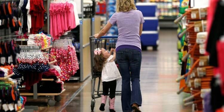 Forte hausse de la consommation des ménages américains