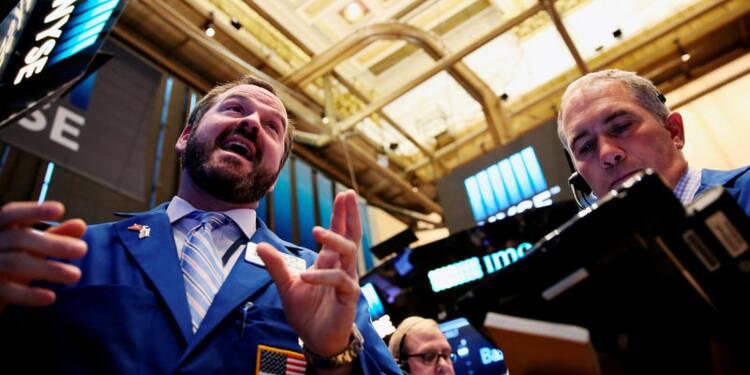 La Bourse de New York a fini en nette progression
