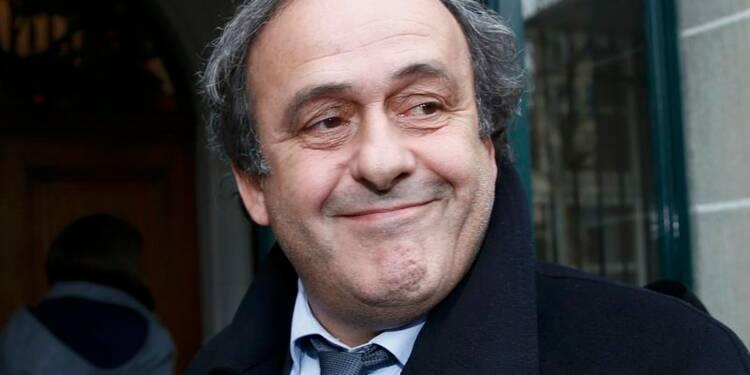 Michel Platini optimiste après son audition devant le Tas