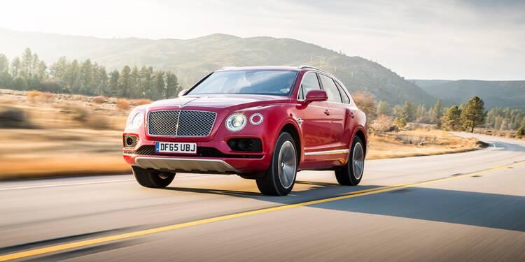 Bentley Bentayga, 2016 :  Le SUV en version princière