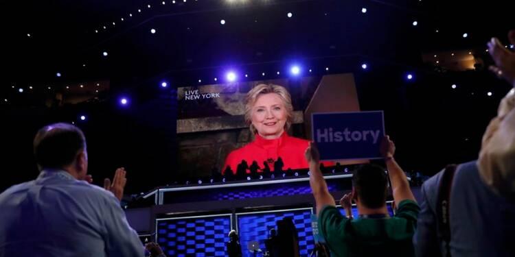 Hillary Clinton mènera les démocrates à la présidentielle
