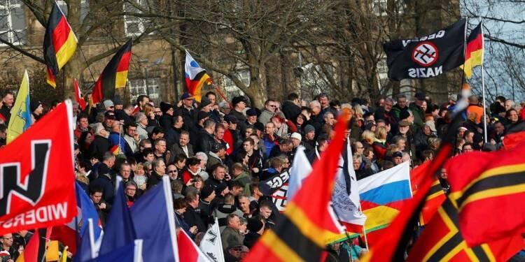 Manifestations islamophobes en Europe à l'appel de Pegida