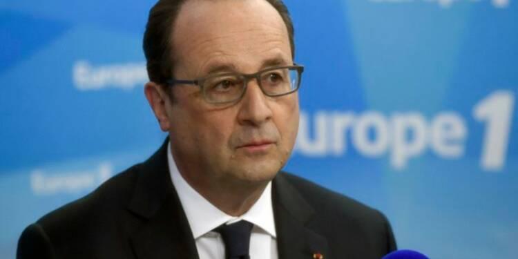 François Hollande ne voit pas d'alternative à gauche à sa ligne