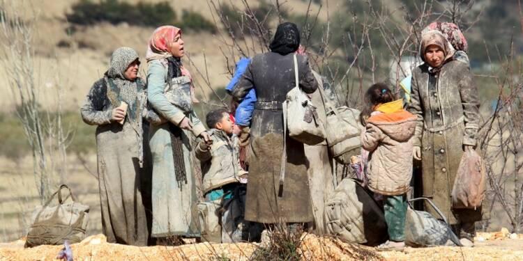 L'armée syrienne progresse vers la frontière turque